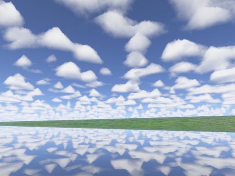 Cloud perfect river