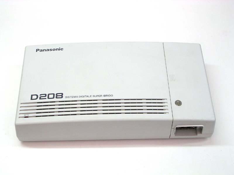 CENTRALINO PANASONIC KX-TD208JT