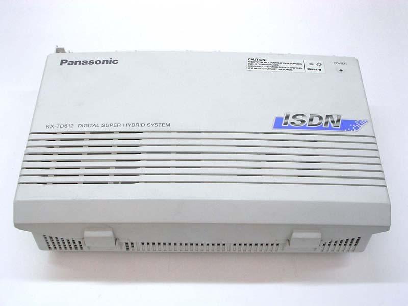 Centralino Panasonic KX-TD612N